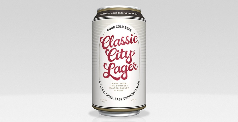 Creature Comforts Classic City Lager