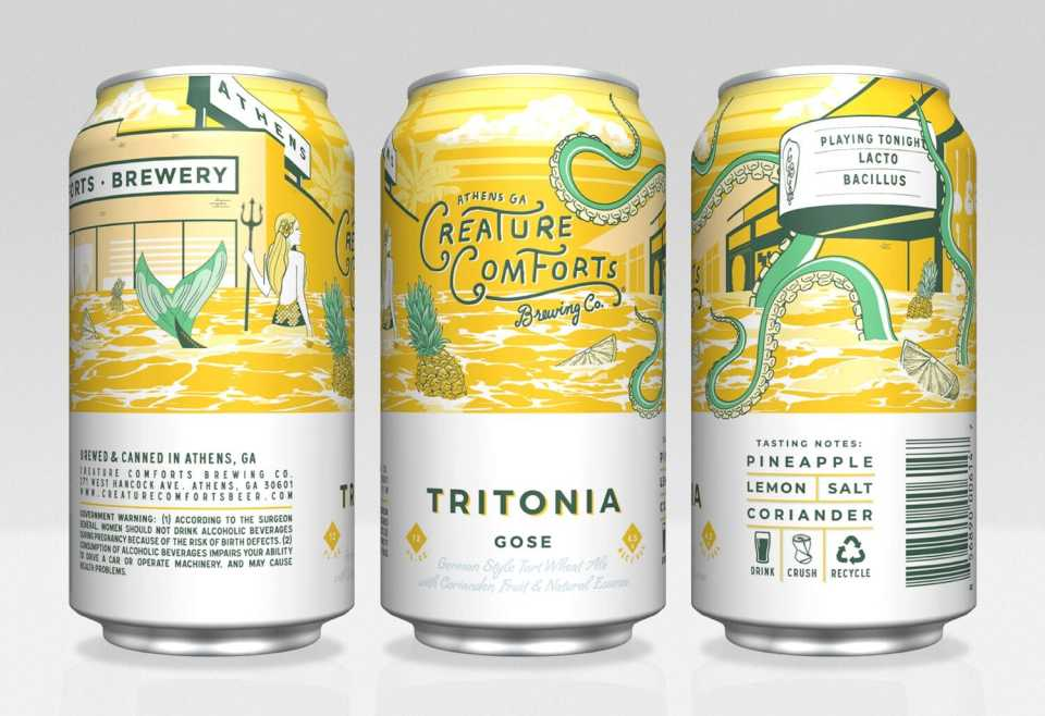 Creature Comforts Pineapple & Lemon Tritonia
