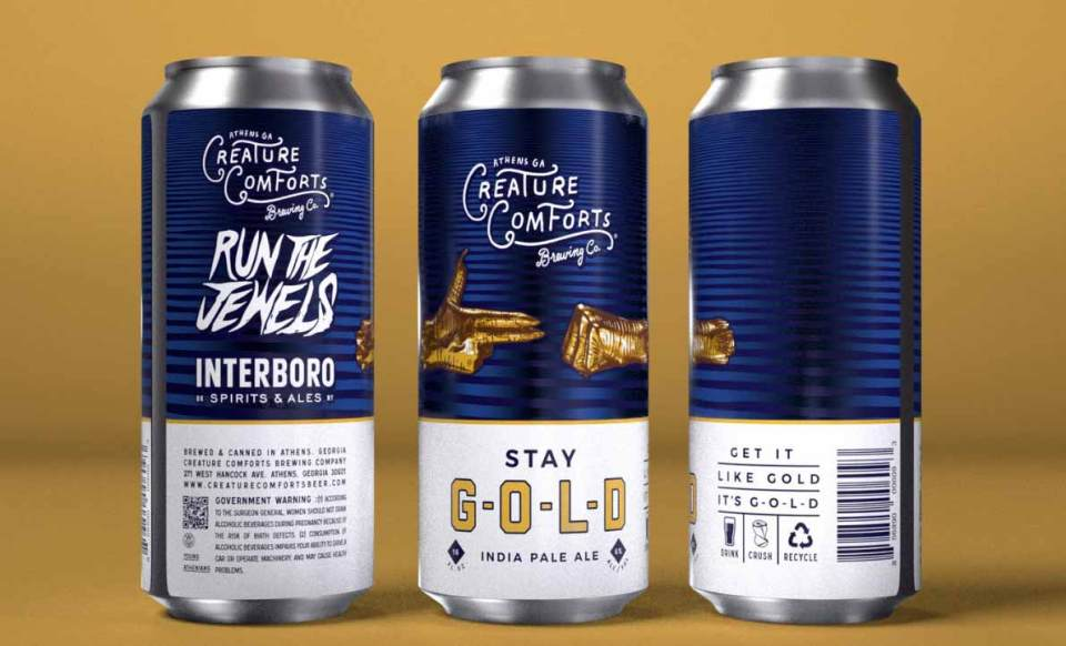 Creature Comforts S-T-A-Y-Gold