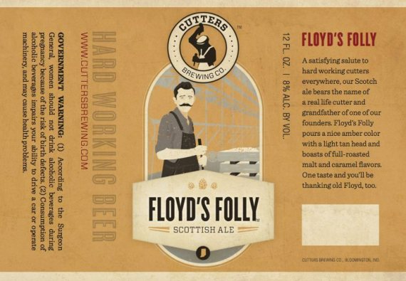 Cutters Floyd's Folly Scottish Ale