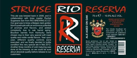 De Struise Rio Reserva
