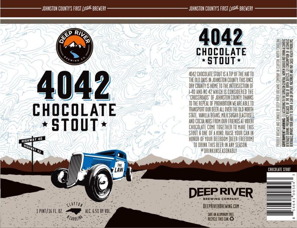 Deep River 4042 Chocolate Stout