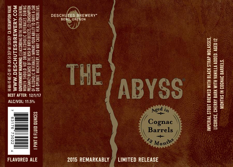 Deschutes Cognac The Abyss