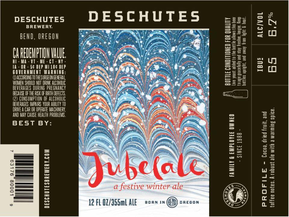 Deschutes Jubelale 2016