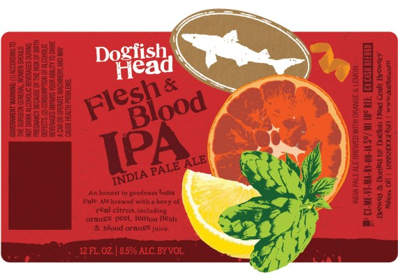 Dogfish Head Flesh & Blood IPA 2016