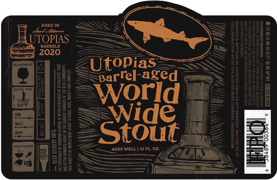 Dogfish Head Utopias Barrel-Aged World Wide Stout