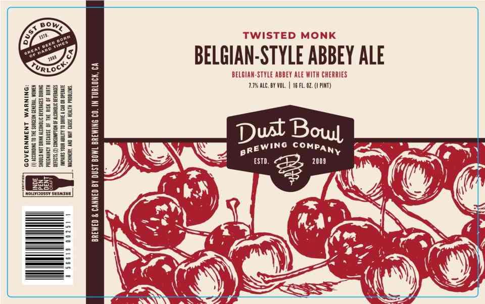 Dust Bowl Twisted Monk Belgian-Style Abbey Ale