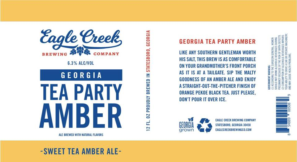 Eagle Creek Georgia Tea Party Amber Ale
