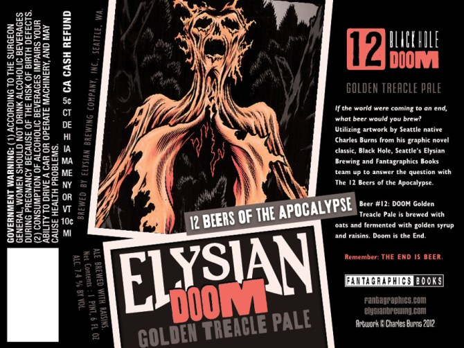 Elysian Doom Golden Treacle Pale Ale