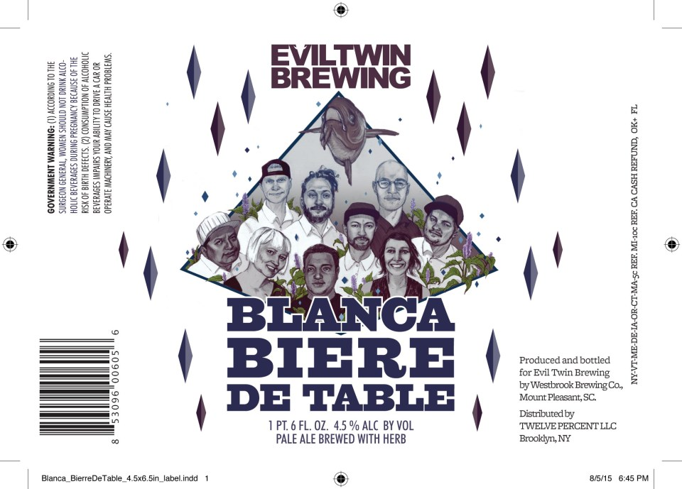 Evil Twin Blanca Biere De Table
