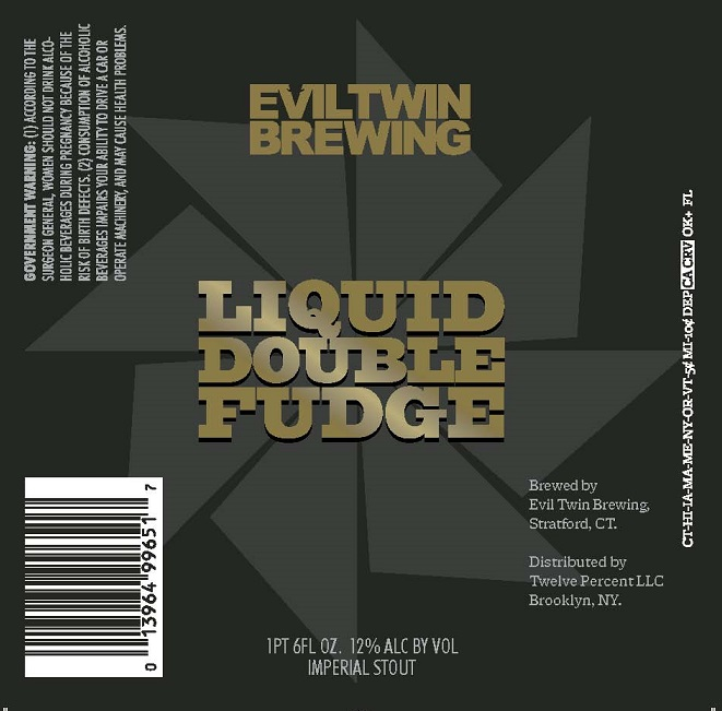 Evil Twin Liquid Double Fudge