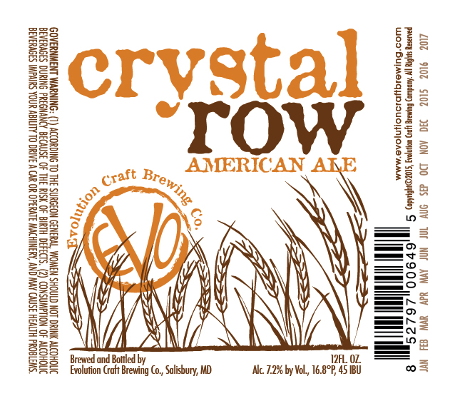 Evolution Crystal Row American Ale