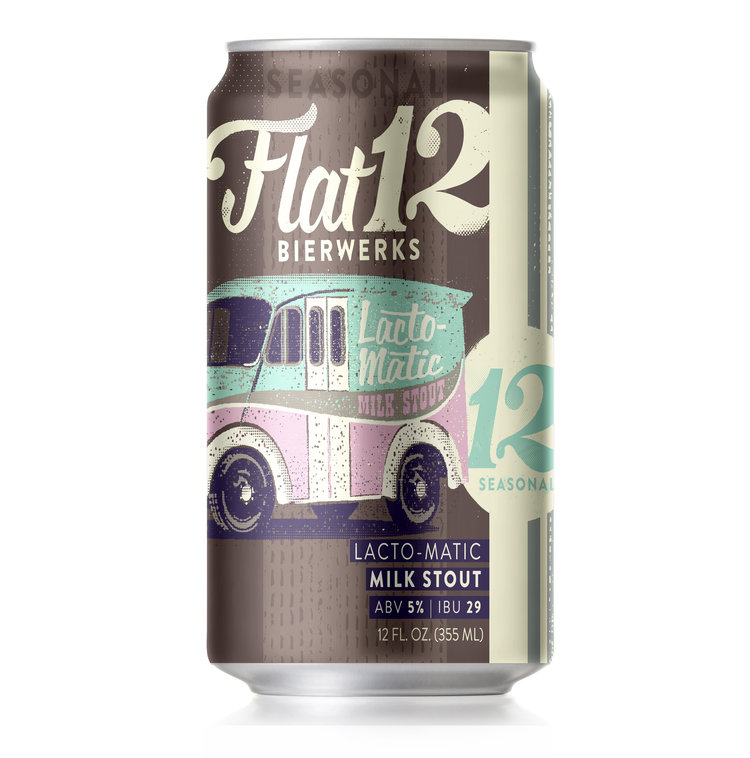 Flat 12 Lacto-Matic Milk Stout