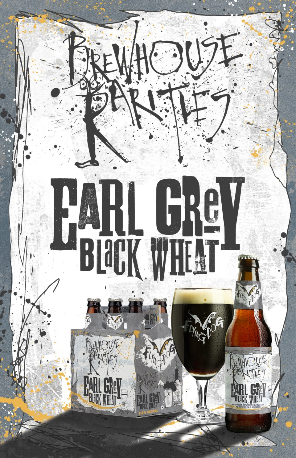 Flying Dog Brewhouse Rarities Earl Grey Black Wheat