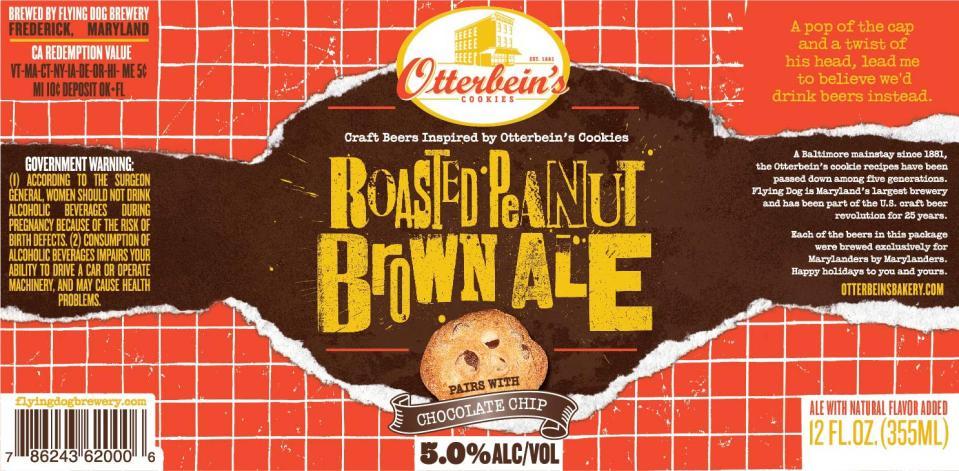 Flying Dog Roasted Peanut Brown Ale