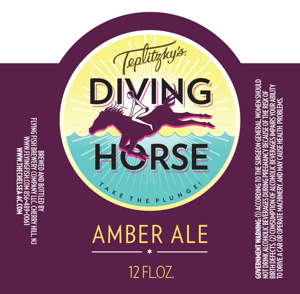 Flying Fish Teplitzky's Diving Horse Amber Ale