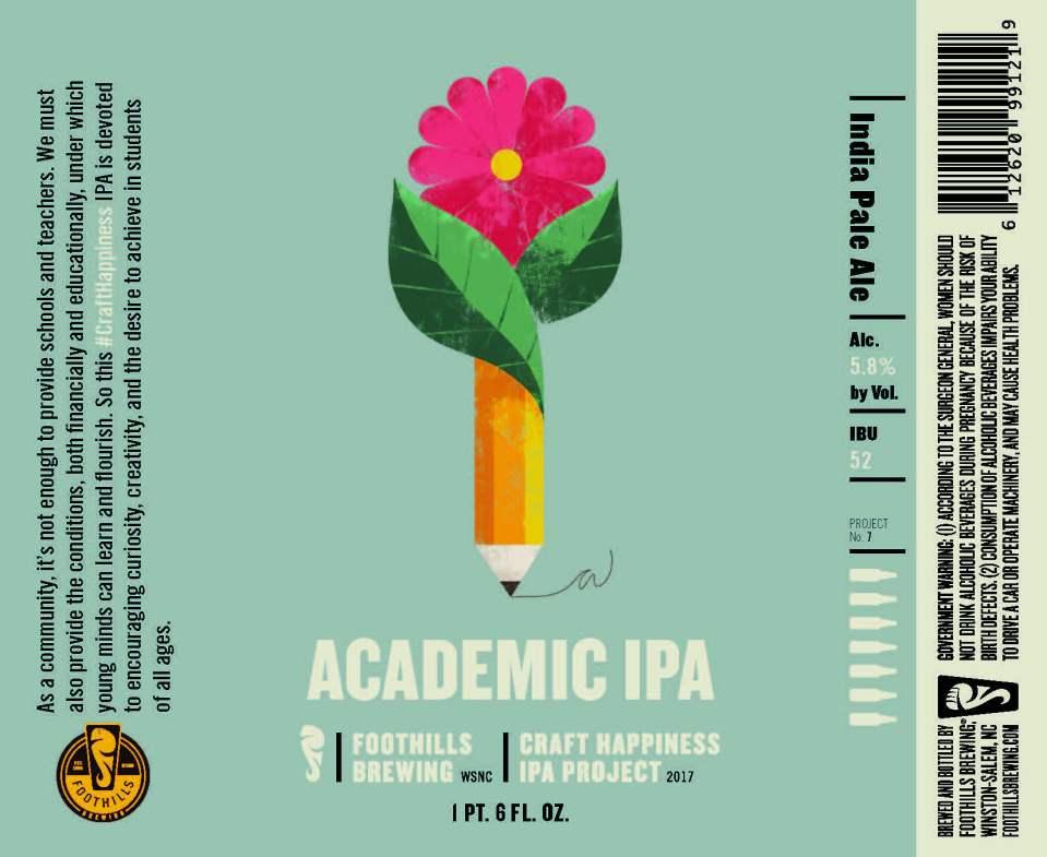 Foothills Academic IPA