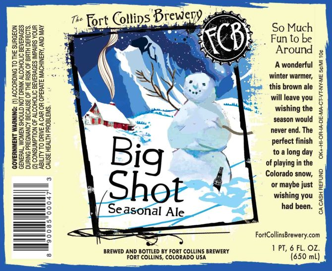 Fort Collins Big Shot Seasonal Ale