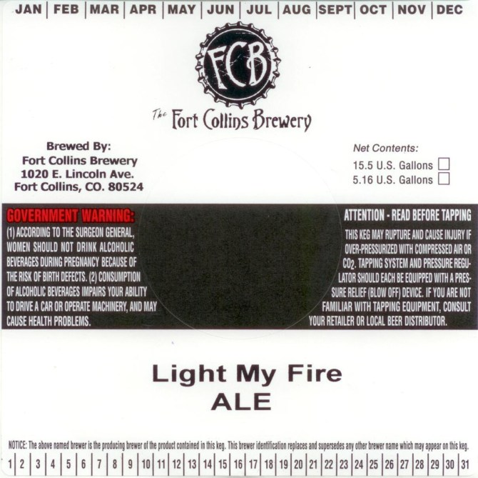 Fort Collins Light My Fire Draft
