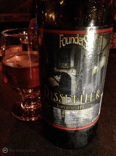 Founders Dissenter IPL showed off the brewery's style versatility, with a complex 8.7% strong pale lager. #10 still lingers on shelves in a few places.