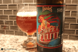 We were all waiting for this. A throwback brew, or at least a nod to Founders Nemesis 2009 comes Sweet Repute. In case you forgot what hangovers were like, Repute was there to help as a 12.6% maple syrup, bourbon barrel wheat wine.