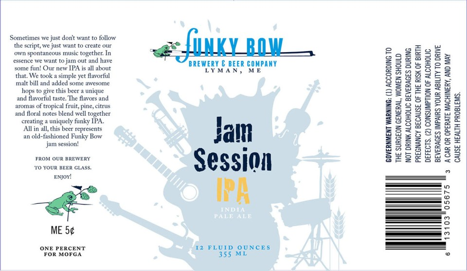 Funky Bow Brewery Jam Session IPA