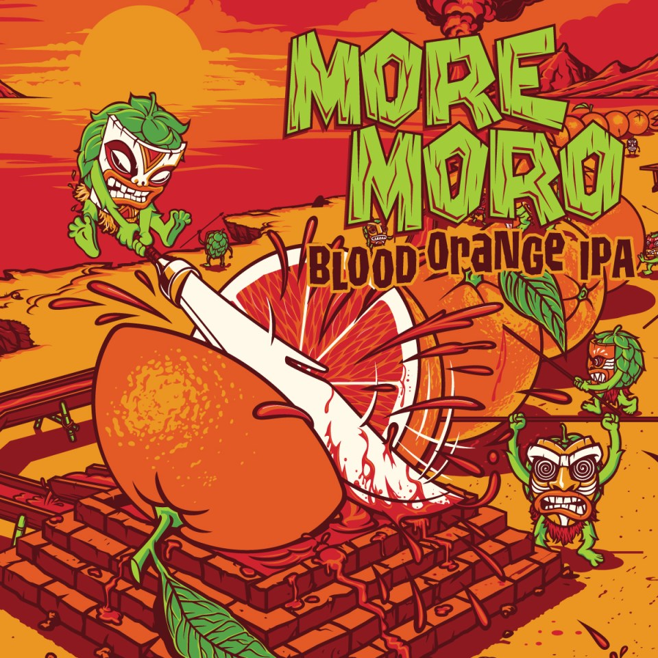 Funky Buddha Moro Moro Blood Orange IPA