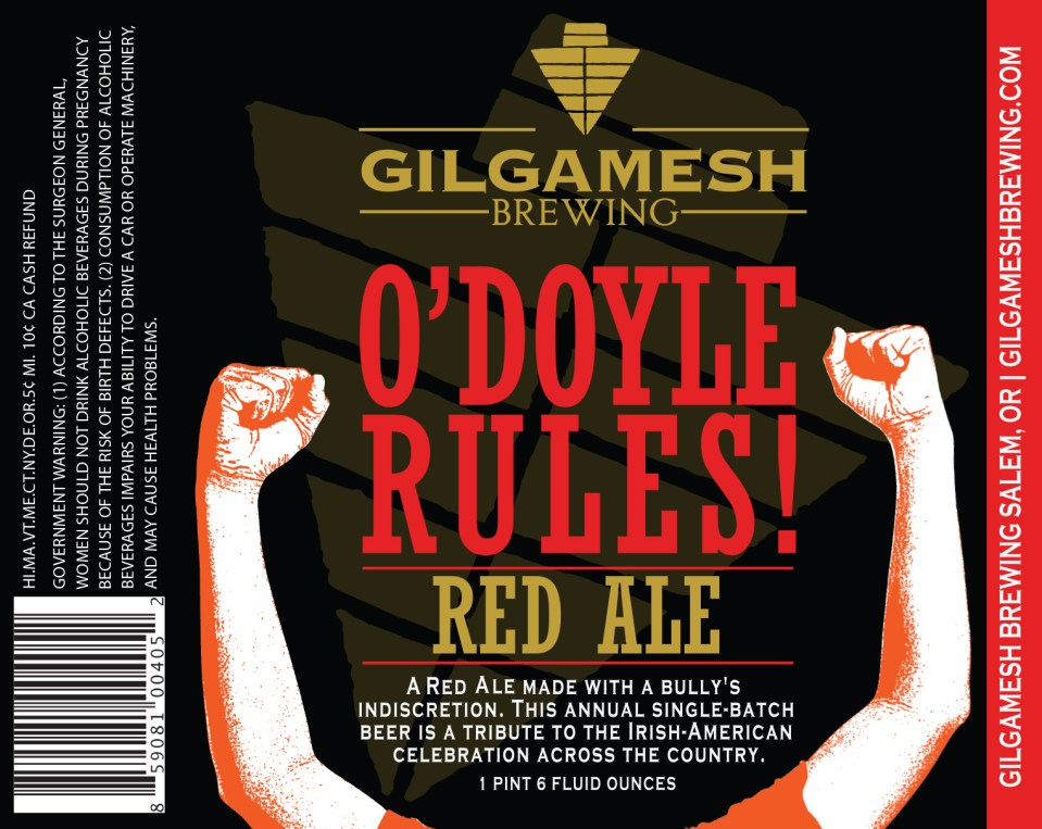Gilgamesh Brewing O'Doyle Rules Red Ale