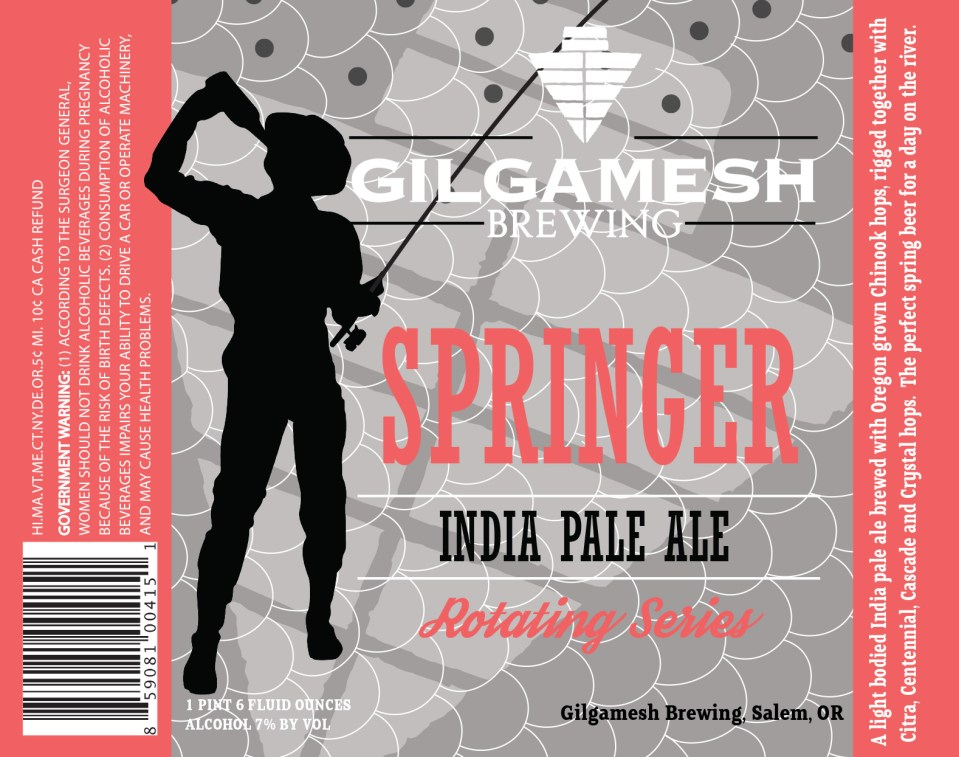 Gilgamesh Brewing Springer India Pale Ale