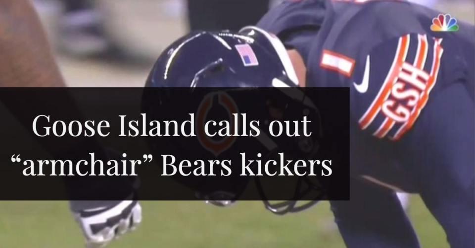 Goose Island Bears Kicker