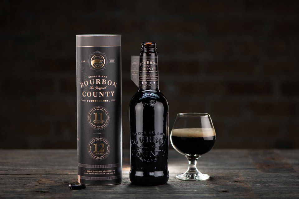 Goose Island Double Barrel Bourbon County.