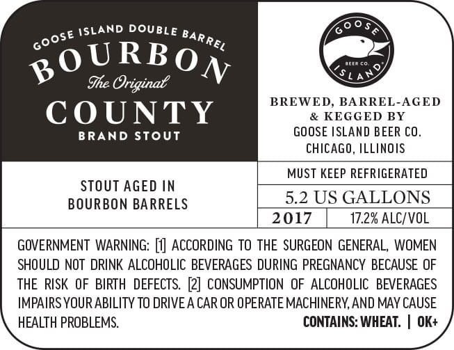 Goose Island Double Barrel Bourbon County
