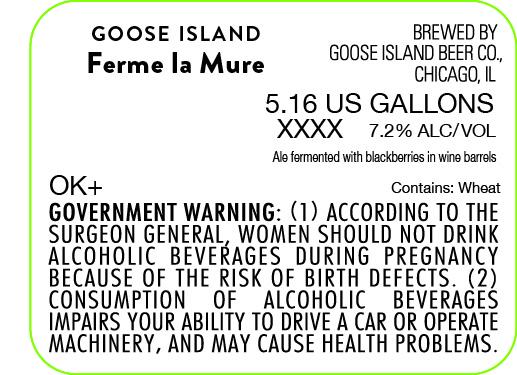 Goose Island Ferme La Mure