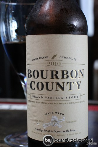 One time release: Vanilla Bourbon County
