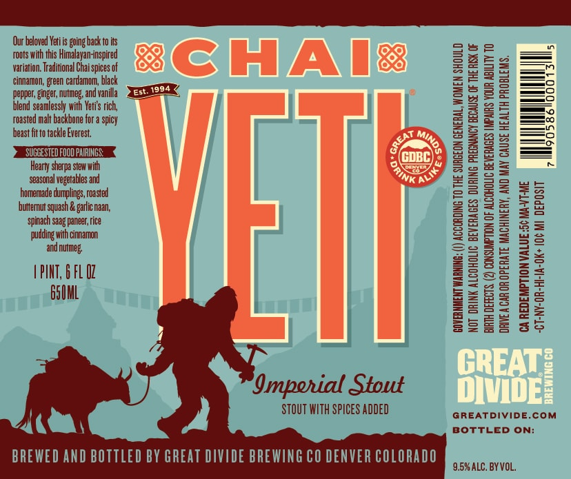 Great Divide Chai Yeti