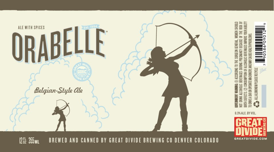 Great Divide Orabelle Cans