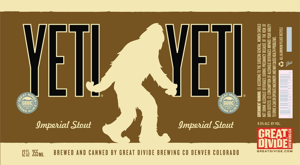Great Divide Yeti Cans