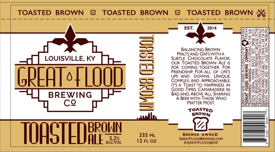 Great Flood Toasted Brown Ale