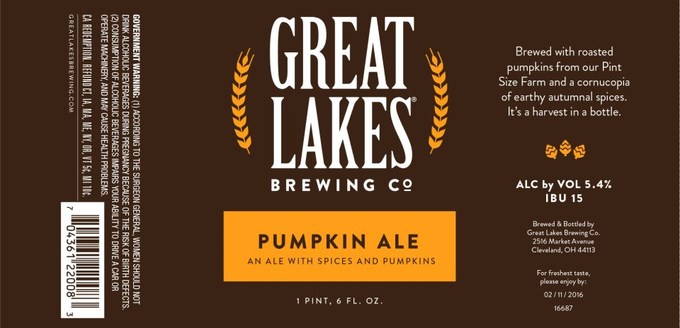 Great Lakes Pumpkin Ale