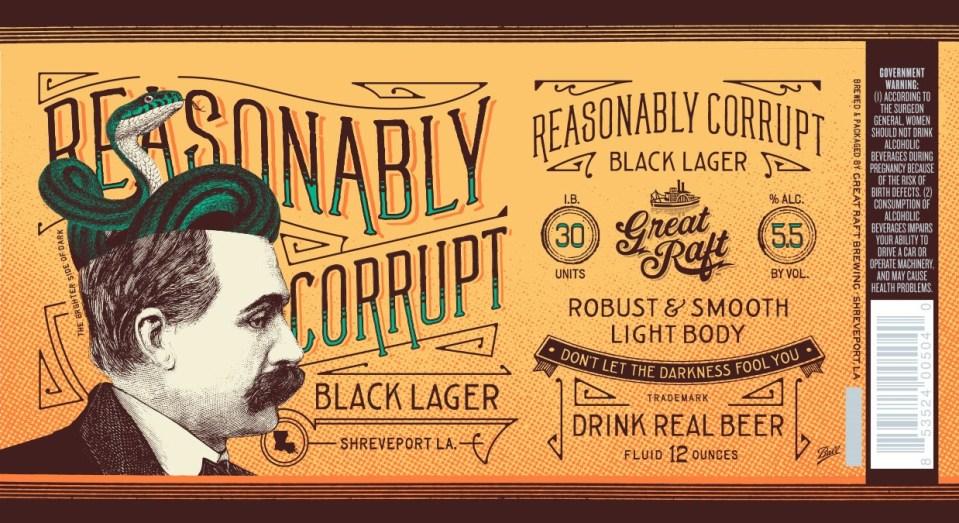 Great Raft Reasonably Corrupt Black Lager
