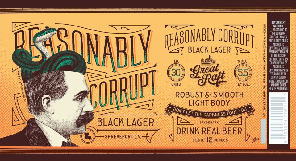 Great Raft Reasonably Corrupt Black Lager