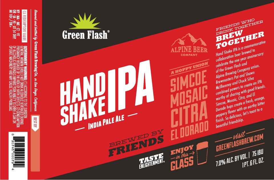 Green Flash Handshake IPA