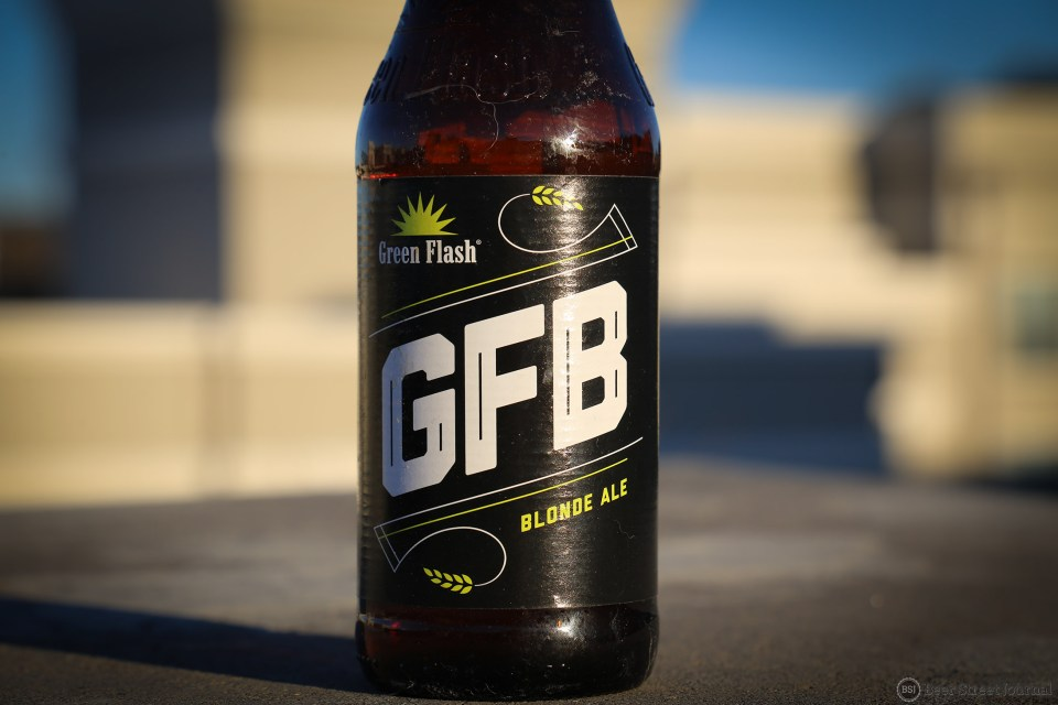 Green Flash GFB Bottle