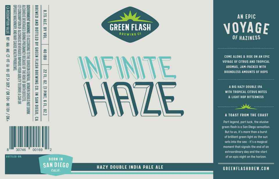 Green Flash Infinite Haze