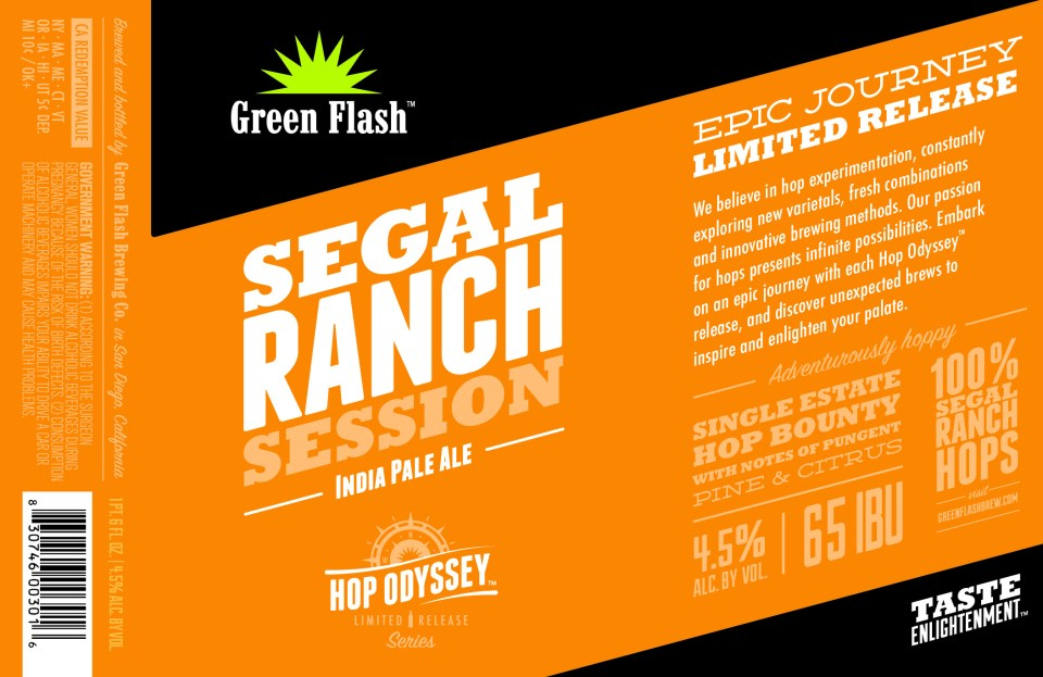 Green Flash Segal Ranch Session
