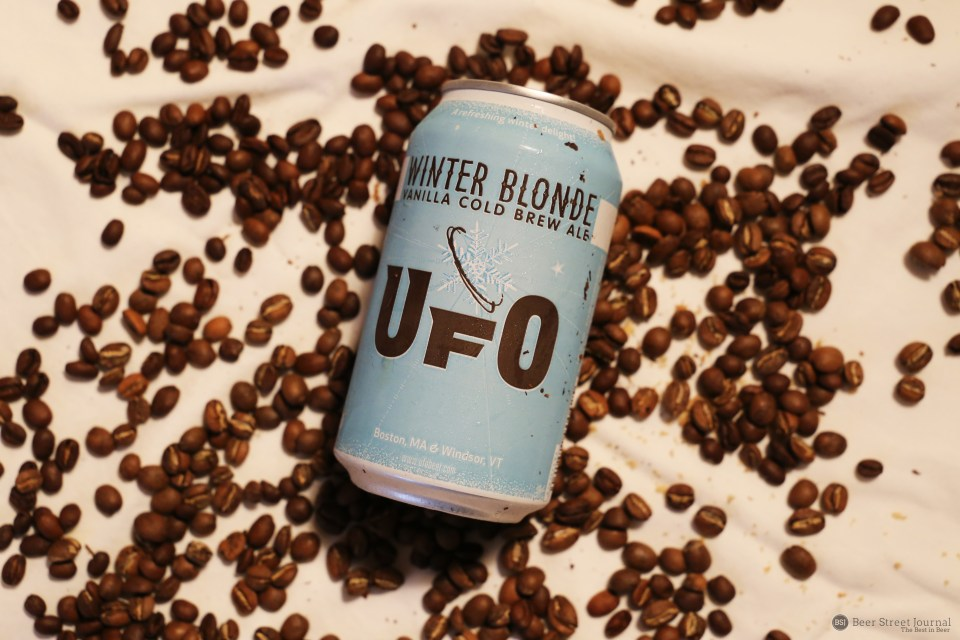 Harpoon UFO Winter Blonde can