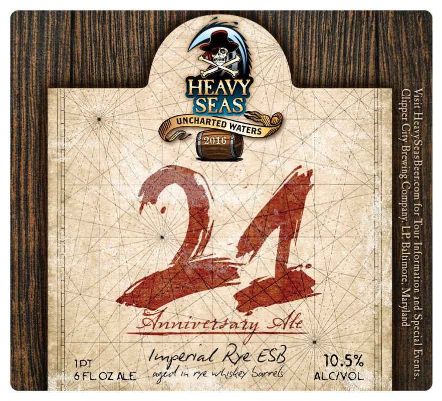 Heavy Seas 21 Anniversary Ale