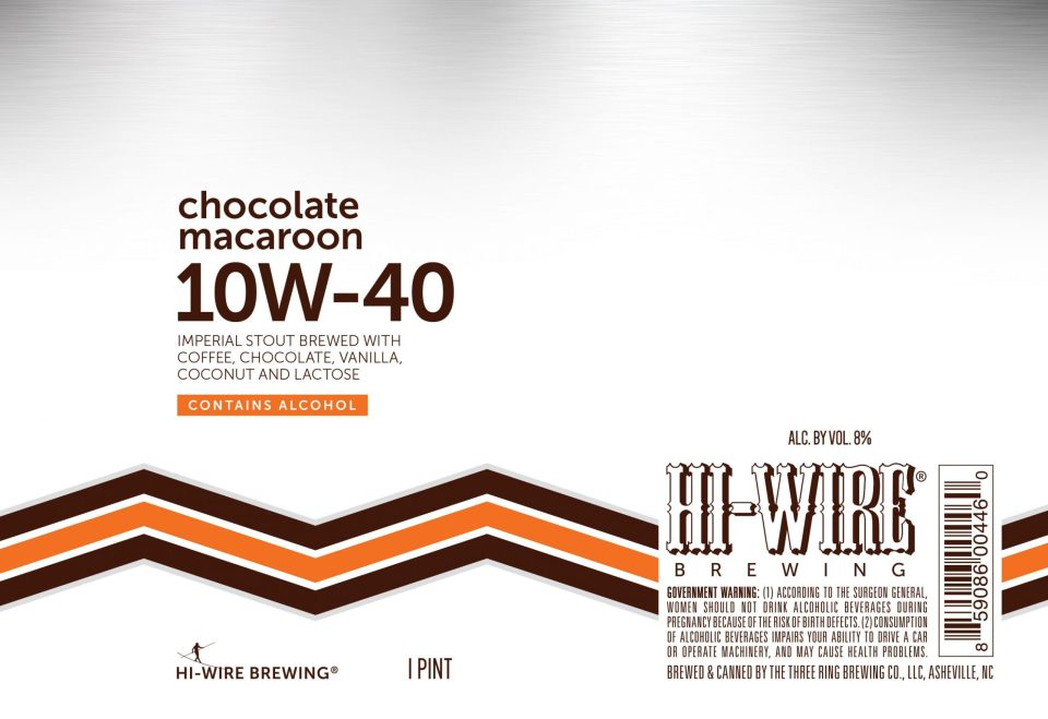 Hi-Wire Chocolate Macaroon 10W-40