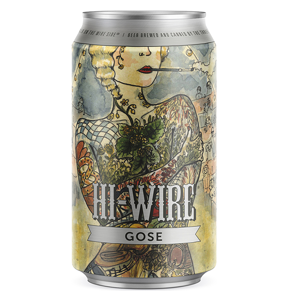 Hi-Wire Gose can