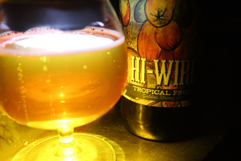 Hi-Wire Tropical Fruit Golden Strong Ale